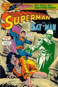 Cover Thumbnail for Superman (Egmont Ehapa, 1966 series) #20/1979