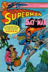 Cover Thumbnail for Superman (Egmont Ehapa, 1966 series) #22/1979