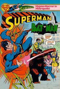 Cover Thumbnail for Superman (Egmont Ehapa, 1966 series) #9/1980