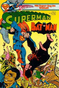 Cover Thumbnail for Superman (Egmont Ehapa, 1966 series) #10/1980
