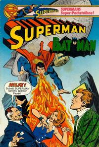 Cover Thumbnail for Superman (Egmont Ehapa, 1966 series) #12/1980