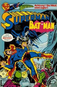 Cover Thumbnail for Superman (Egmont Ehapa, 1966 series) #13/1980