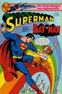 Cover Thumbnail for Superman (Egmont Ehapa, 1966 series) #14/1980