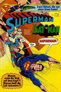 Cover Thumbnail for Superman (Egmont Ehapa, 1966 series) #15/1980