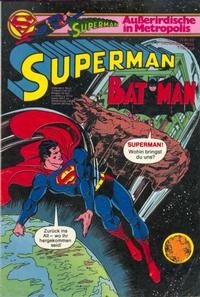 Cover Thumbnail for Superman (Egmont Ehapa, 1966 series) #18/1980