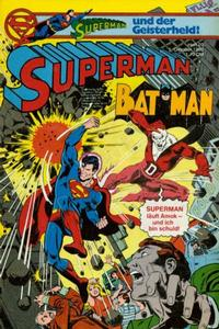 Cover Thumbnail for Superman (Egmont Ehapa, 1966 series) #20/1980
