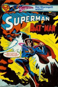 Cover Thumbnail for Superman (Egmont Ehapa, 1966 series) #21/1980