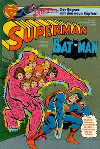 Cover Thumbnail for Superman (Egmont Ehapa, 1966 series) #22/1980