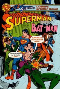 Cover Thumbnail for Superman (Egmont Ehapa, 1966 series) #23/1980