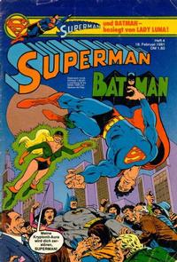 Cover Thumbnail for Superman (Egmont Ehapa, 1966 series) #4/1981