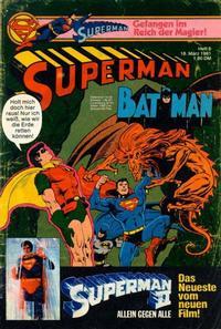 Cover Thumbnail for Superman (Egmont Ehapa, 1966 series) #6/1981