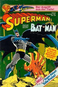 Cover Thumbnail for Superman (Egmont Ehapa, 1966 series) #25/1981
