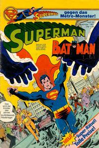 Cover Thumbnail for Superman (Egmont Ehapa, 1966 series) #26/1981