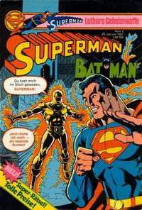 Cover Thumbnail for Superman (Egmont Ehapa, 1966 series) #2/1982
