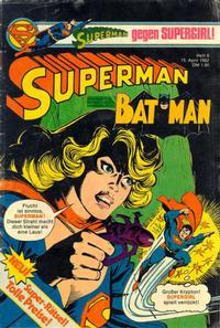 Cover Thumbnail for Superman (Egmont Ehapa, 1966 series) #8/1982