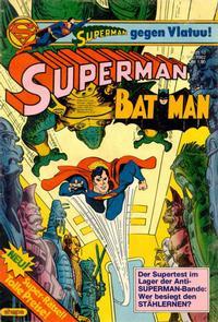 Cover Thumbnail for Superman (Egmont Ehapa, 1966 series) #10/1982