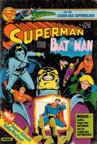 Cover Thumbnail for Superman (Egmont Ehapa, 1966 series) #12/1982