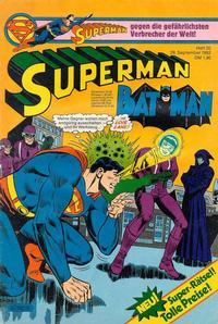 Cover Thumbnail for Superman (Egmont Ehapa, 1966 series) #20/1982