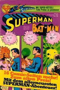 Cover Thumbnail for Superman (Egmont Ehapa, 1966 series) #23/1982