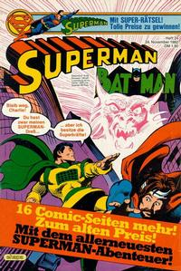 Cover Thumbnail for Superman (Egmont Ehapa, 1966 series) #24/1982