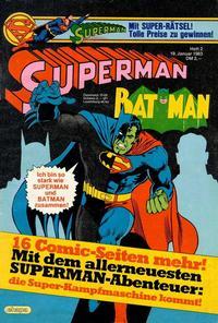 Cover Thumbnail for Superman (Egmont Ehapa, 1966 series) #2/1983