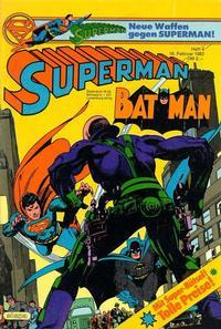 Cover for Superman (Egmont Ehapa, 1966 series) #4/1983