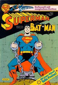 Cover Thumbnail for Superman (Egmont Ehapa, 1966 series) #5/1983