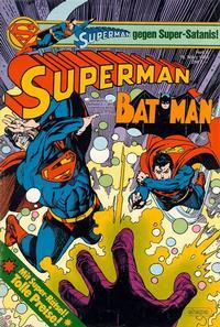 Cover for Superman (Egmont Ehapa, 1966 series) #6/1983