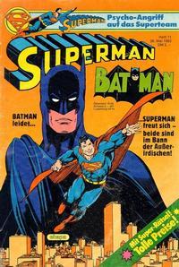 Cover Thumbnail for Superman (Egmont Ehapa, 1966 series) #11/1983
