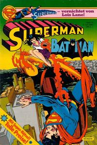 Cover Thumbnail for Superman (Egmont Ehapa, 1966 series) #14/1983