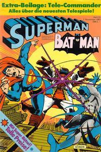 Cover Thumbnail for Superman (Egmont Ehapa, 1966 series) #23/1983