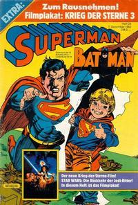Cover Thumbnail for Superman (Egmont Ehapa, 1966 series) #25/1983