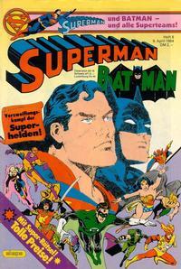 Cover Thumbnail for Superman (Egmont Ehapa, 1966 series) #8/1984