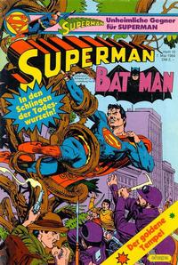 Cover Thumbnail for Superman (Egmont Ehapa, 1966 series) #10/1984