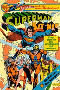 Cover Thumbnail for Superman (Egmont Ehapa, 1966 series) #11/1984