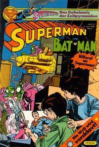 Cover Thumbnail for Superman (Egmont Ehapa, 1966 series) #12/1984