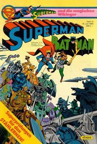 Cover Thumbnail for Superman (Egmont Ehapa, 1966 series) #15/1984