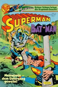 Cover Thumbnail for Superman (Egmont Ehapa, 1966 series) #19/1984