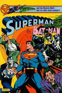 Cover Thumbnail for Superman (Egmont Ehapa, 1966 series) #20/1984