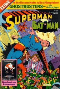 Cover Thumbnail for Superman (Egmont Ehapa, 1966 series) #3/1985