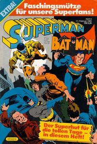 Cover Thumbnail for Superman (Egmont Ehapa, 1966 series) #4/1985