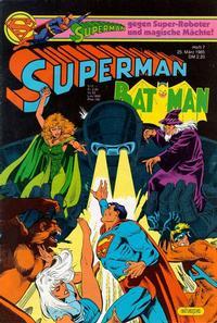 Cover Thumbnail for Superman (Egmont Ehapa, 1966 series) #7/1985