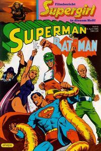 Cover Thumbnail for Superman (Egmont Ehapa, 1966 series) #8/1985
