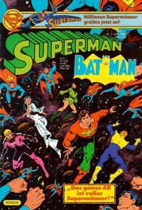 Cover Thumbnail for Superman (Egmont Ehapa, 1966 series) #14/1985