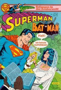 Cover Thumbnail for Superman (Egmont Ehapa, 1966 series) #16/1985