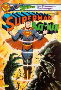 Cover for Superman (Egmont Ehapa, 1966 series) #20/1985
