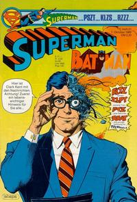 Cover Thumbnail for Superman (Egmont Ehapa, 1966 series) #21/1985