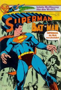 Cover Thumbnail for Superman (Egmont Ehapa, 1966 series) #24/1985