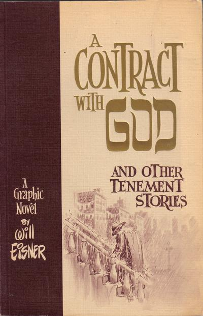 Cover for A Contract with God (Baronet Publishing, 1978 series)