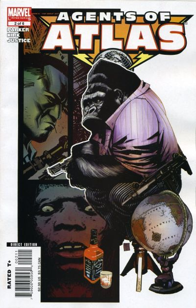 Cover for Agents of Atlas (Marvel, 2006 series) #2